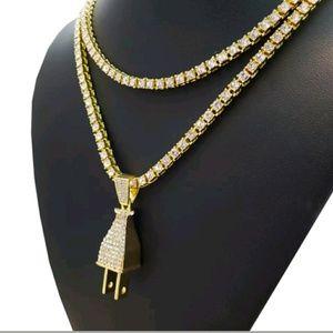 Other - MEN'S LAB DIAMONDS NECKLACE SET